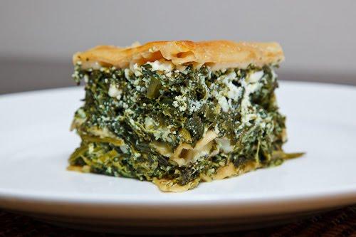 Spinach and Feta Lasagna (aka Spanakopita Lasagna) 1 500